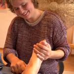 Fußreflexzonenmassage Heilpraktikerin Verena Berthold in der Nähe von Neuötting, Altötting, Mühldorf und Töging